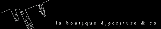 la boutique d'écriture & co